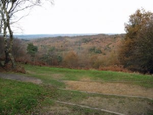 Devil's Punch Bow, Hindhead, Surrey, close to Hunter's home