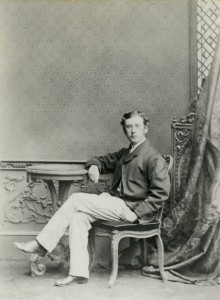 Hunter as a young man. Photo: National Trust Images