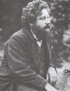 William Morris aged 41, photographed by Frederick Hollyer (Source: William Morris Gallery)