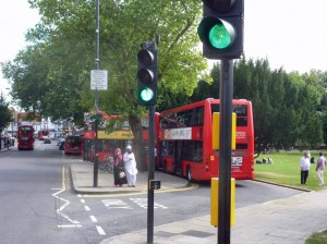 Bus lay-by taken unlawfully from the common