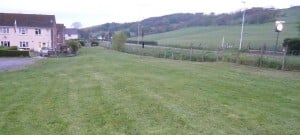 A new village green at Talbont, Ceredigion which could not have been registered under the new Planning Bill