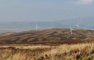 Wind turbines on Kirkby Moor common. Photo: Friends of the Lake District