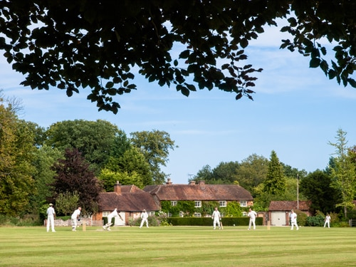 Sunday afternoon village cricket at Greys Green, Oxfordshire  Photo:  Clive Ormonde