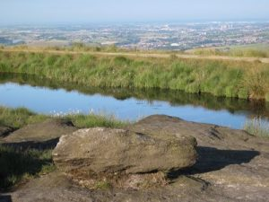 View of Rochdale from the Rochdale Way
