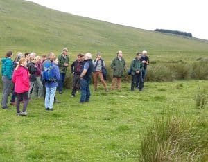 National Common Land Stakeholder Group members on Ulpha Moor, Cumbria