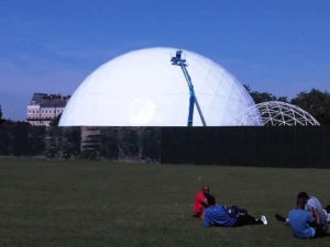 Got to Dance domes on Clapham Common, 2012