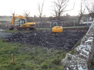 The diggers move in to destroy the common