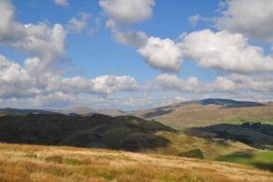 The slopes of Pumlumon. Photo: Liz Fleming-Williams