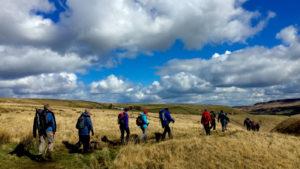 Marsden Moor walkers National Trust
