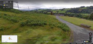 The Skreen development site Google street view