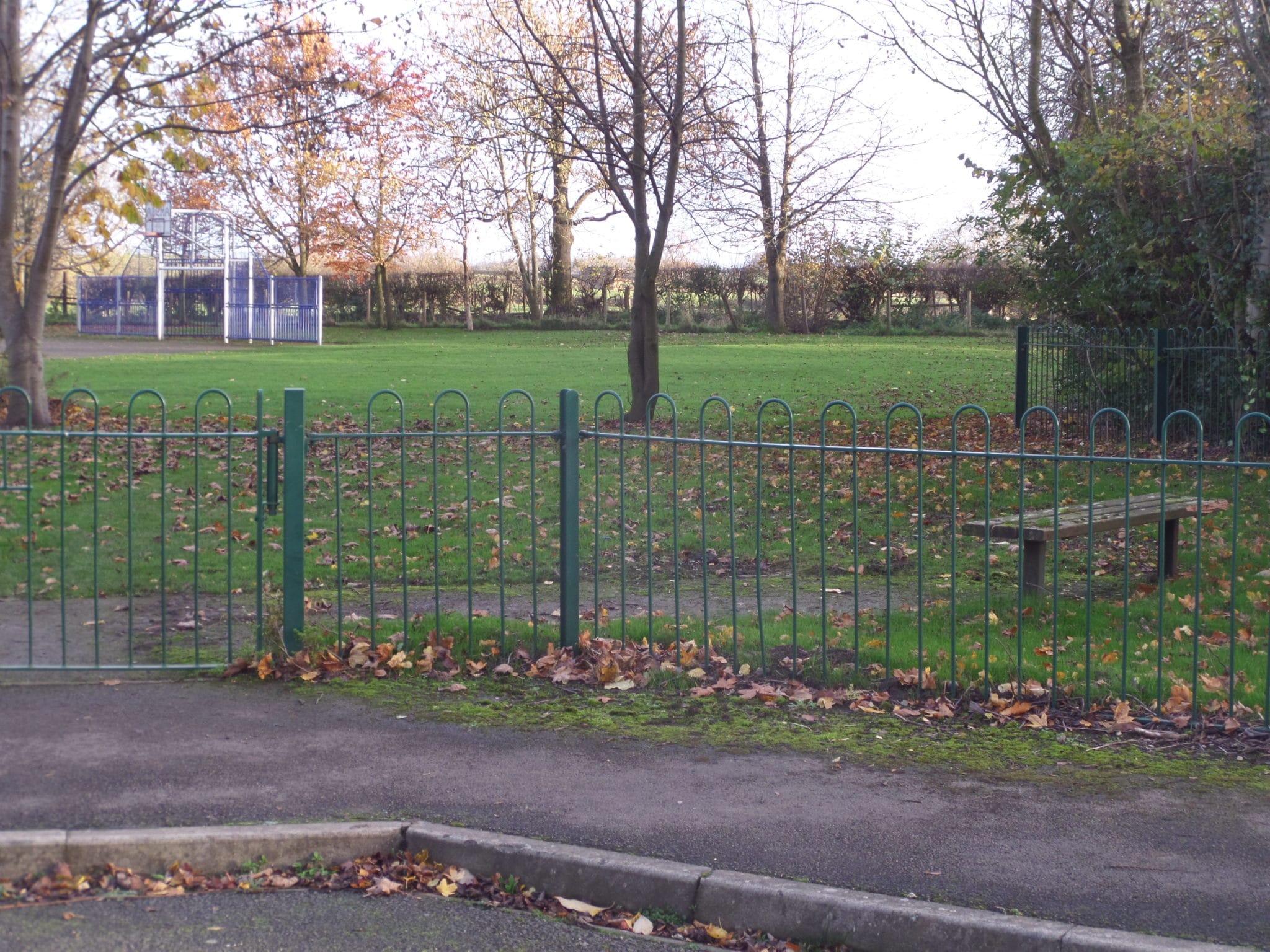 The new village green at Scorton