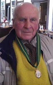 Ronald Smith on his 90th birthday
