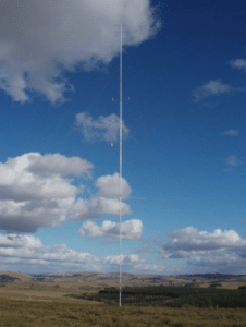 Illustrative photo of the mast from the developer's design and access statement