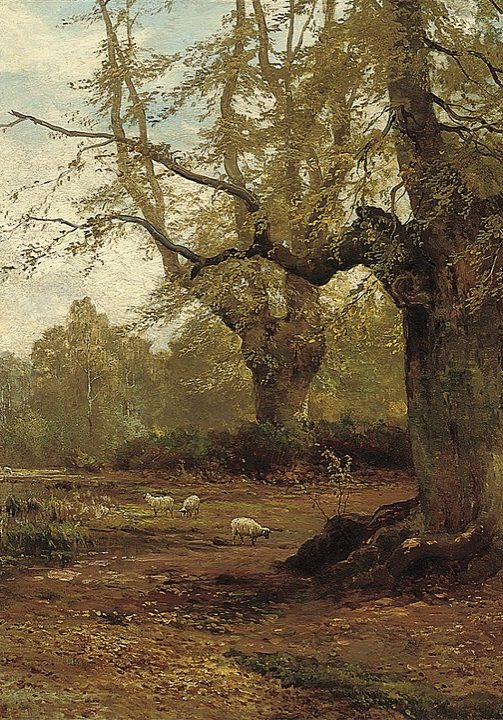Burnham Beeches by Alfred de Breanski