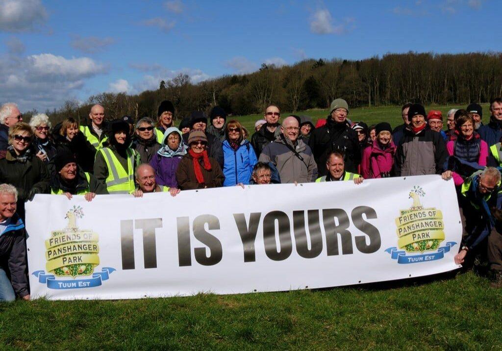 Rally at Panshanger Park, Hertfordshireshire, in 2015.
