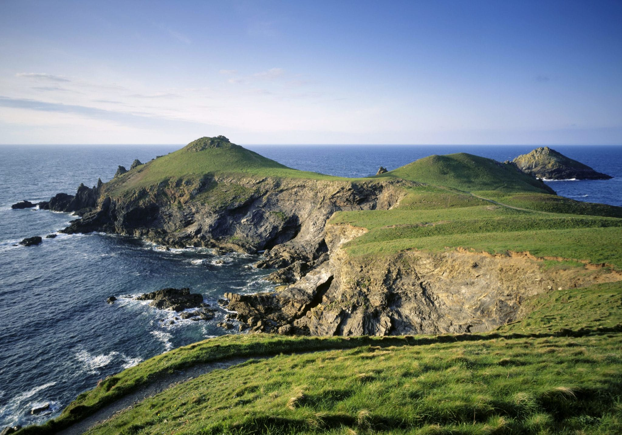In 1935 the society raised funds to purchase Pentire Head, N Cornwall