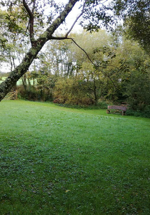 Sutton village green, Haverfordwest, Pembrokeshire, registered in 2018